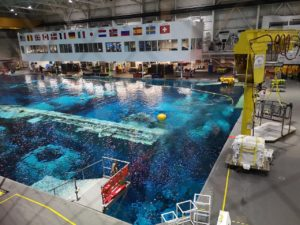 NASAの訓練用プール
