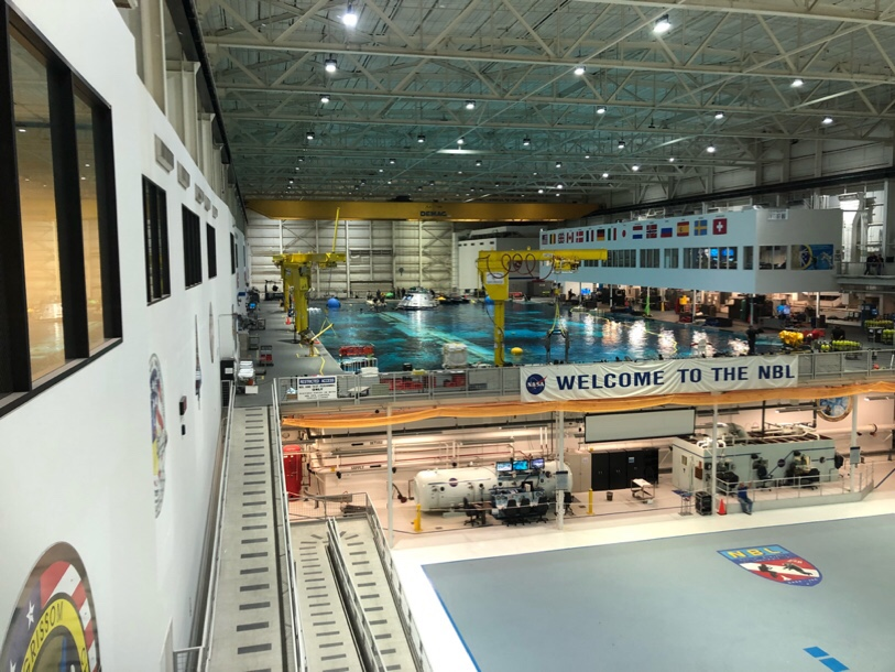 NASAの訓練用プール2