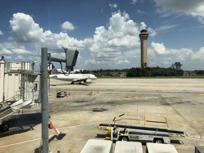 ヒューストン空港の外観
